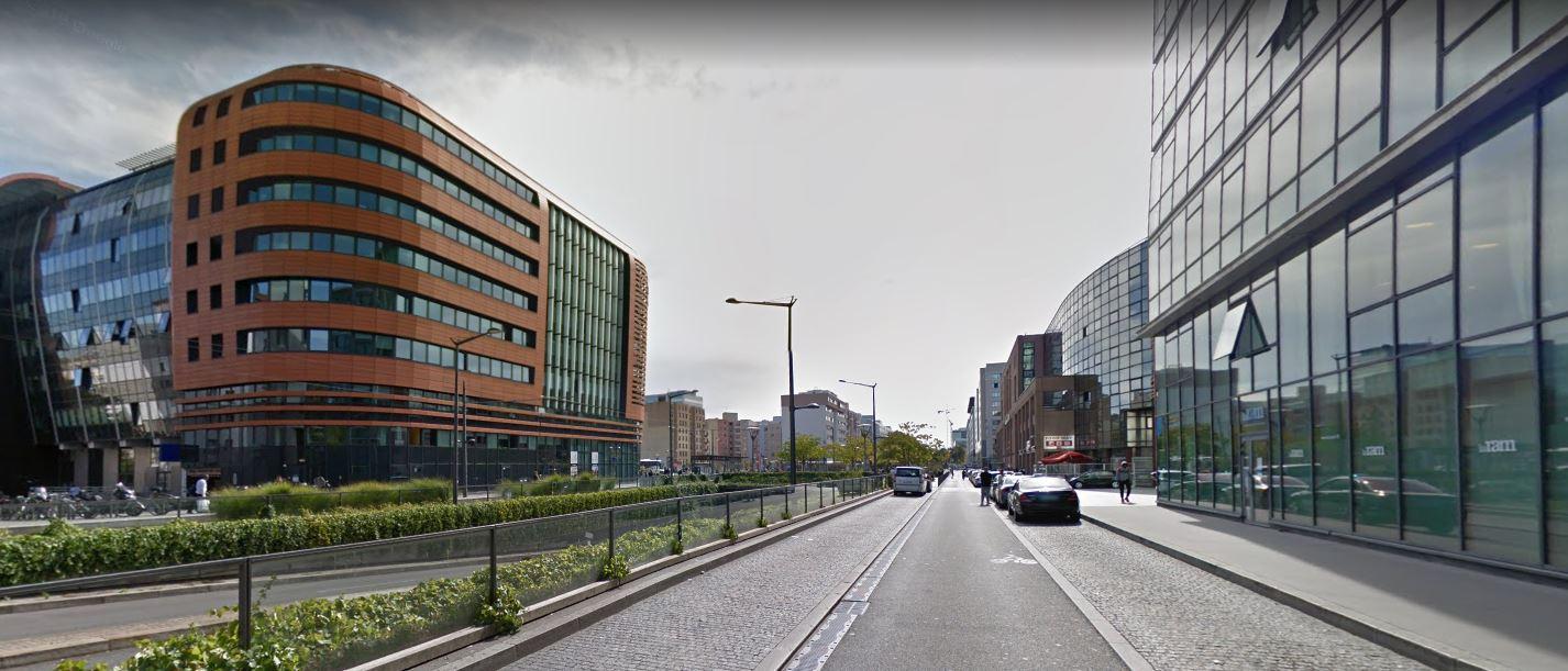 Quartier d'affaires de La Part-Dieu à Lyon