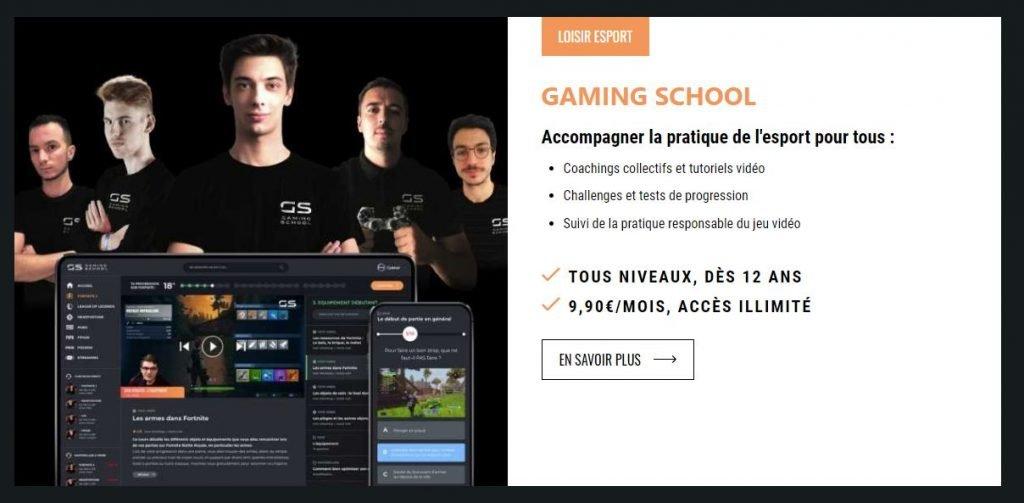 Gaming academy Lyon