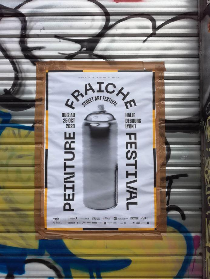 Affiche du festival édition 2020 - Lyon