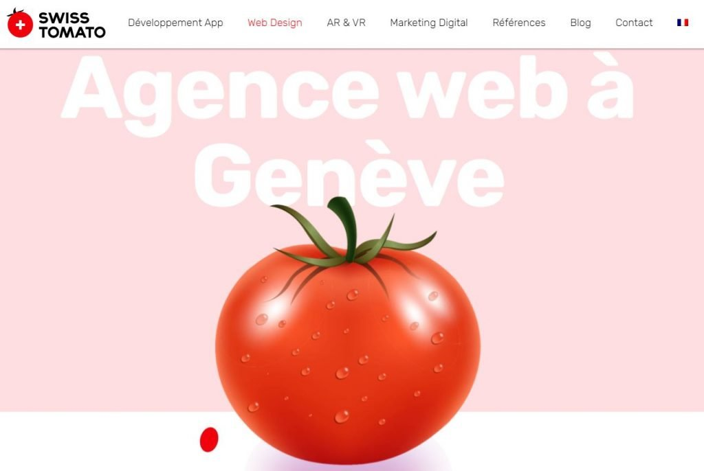 agence web geneve swiss tomato